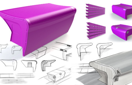 seating design concept for Irwin Bleachers sketches and renderings