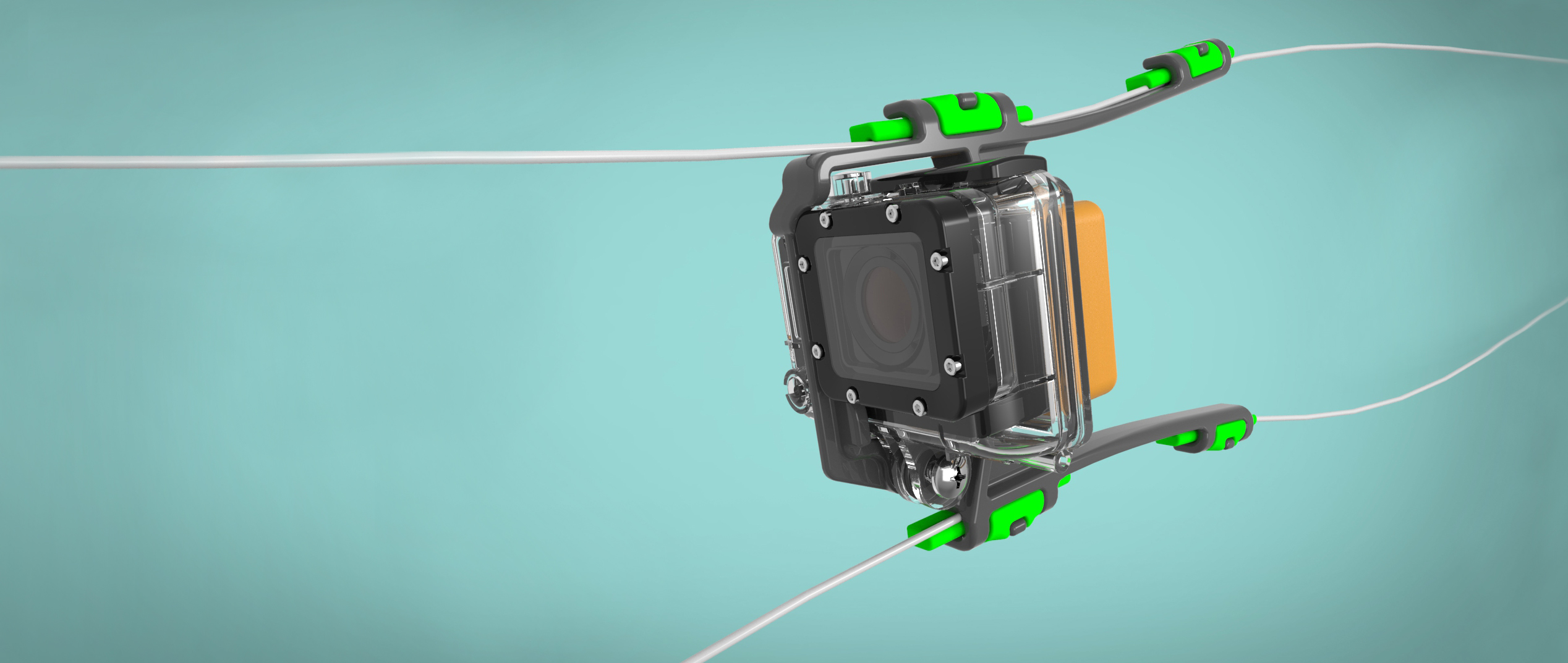 GoPro Mount Designed for Camrig Kiteboarding action sports market