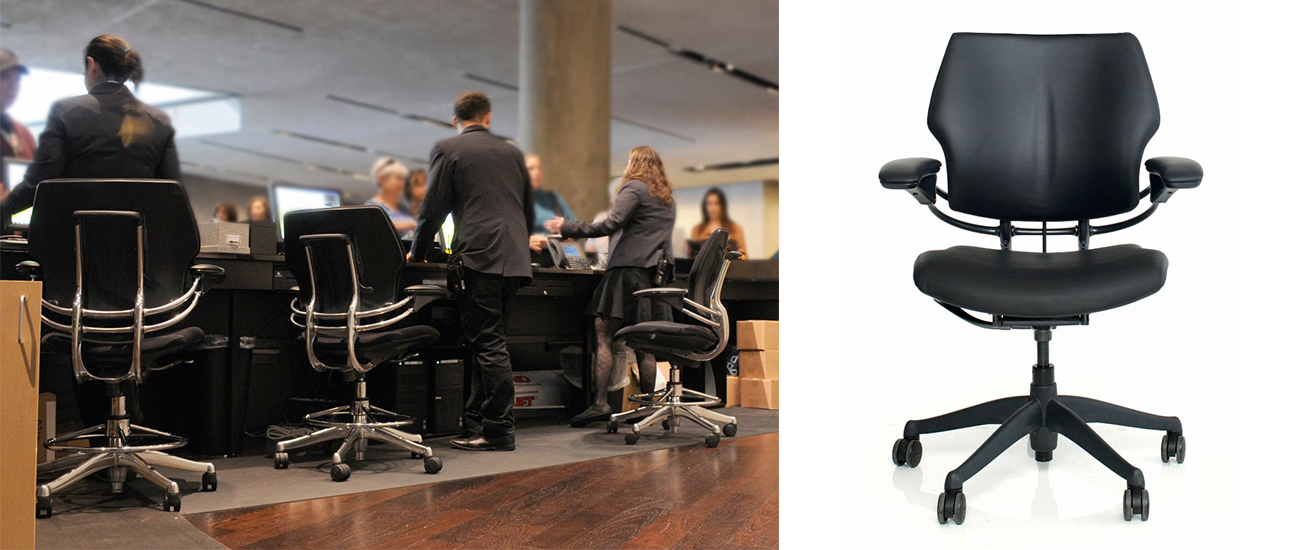Office Task Seating Line Product Development by Shea+Latone