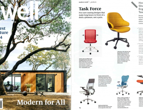 "Dwell's ""Best Furniture Design of 2014"" shows Smart Chair"