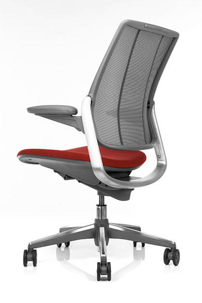 Back View of Humanscale Diffrient Smart Chair