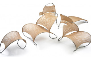 Loop chair seating line designed by Bill Pedersen and developed by Shea+Latone