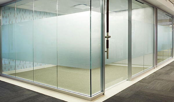 Transwall ONE glass wall system wall design