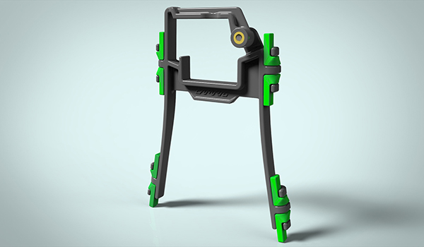 Camrig GoPro Mount Design Final Render