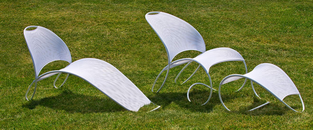 Loop de Loop Chairs developed for Bill Pedersen of KPF Architecture