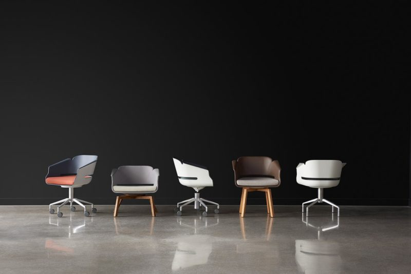 Allseating Lyss chair developed by Shea+Latone